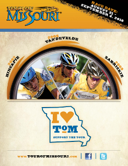 Support the Tour of Missouri