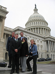 Missouri delegates visit Capitol Hill during the National Bike Summit
