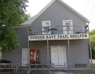 Turner Katy Trail Shelter in Tebbetts by Wally Hartshorn on FlickR