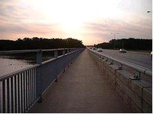 I-494 bridge over the Mississippi River near Minneapolis, Minnesota