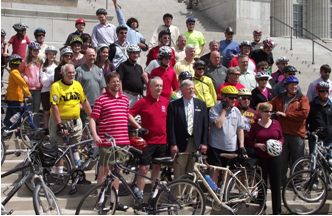 Bicycle, pedestrian, and trail supporters have a voice in Jefferson City