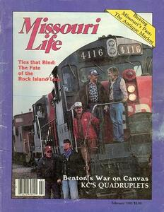 Missouri LIfe Cover: The Fate of the Rock Island Line, Jan/Feb 1982