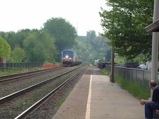Amtrak station at Hermann (Photo courtesy Randy Niere)