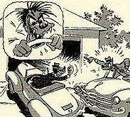 Road rage . . .