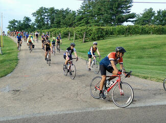 BikeMO starts and ends at the Les Bourgeois Winery