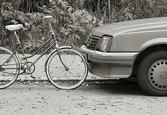 Car and bike