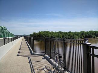 Daniel Boone Bridge Bike/Ped Path connecting Chesterfield to the Katy Trail