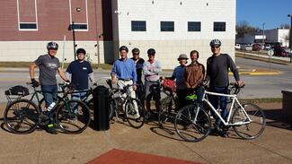 The League of American Bicyclists visited three Missouri communities last week