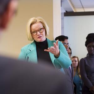 Senator Claire McCaskill had met with Missouri's delegation to the National Bike