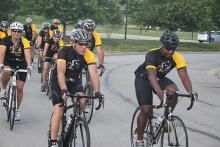 Tour of Kansas City Gran Fondo - the pageantry and excitement of a race, but go