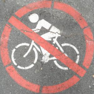 NO bicycle bans in 2017. Hurray!