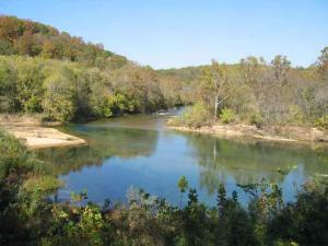 The Ozark National Scenic Riverways includes parts of the Current and Jack's For