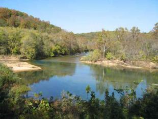 The Ozark National Scenic Riverways includes parts of the Current & Jack's Fork