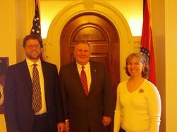 Meeting with Rep. Nate Walker, Kirksville