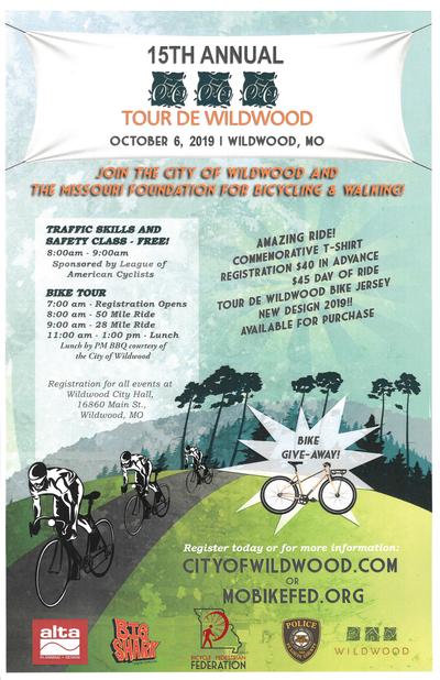 2019 Tour de Wildwood poster
