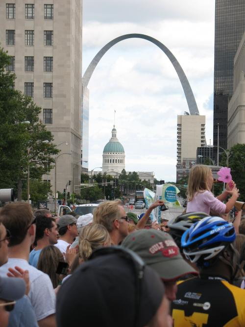 St. Louis is one of the top bicycling and walking cities in the midwest