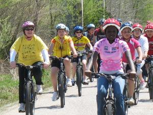 Missourians of all ages and income levels regularly bicycle, walk, run, and use