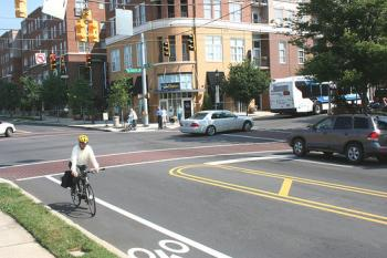 Most walking and bicycling in Missouri takes place on our road and street system