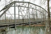 Old Meramec River Bridge (Hwy N) near Pacific.