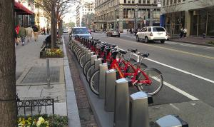 Bike Share systems place stations at convenient locations around the city