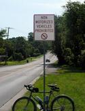83rd Street in De Soto; Image courtesy Kansas Cyclist