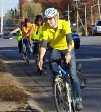 League Cycling Class with MoDOT staff