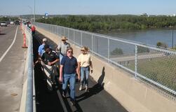 Missouri River Bridge Bike/Ped Path Grand Opening, October 2010