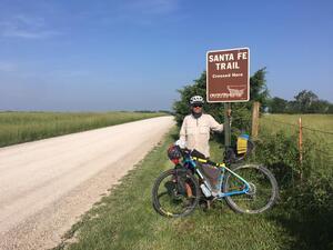 Bill Poindexter at Santa Fe Trail Crossing