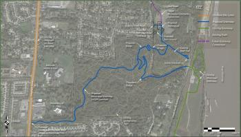 The Cliff Cave Park Trail will connect neighborhoods and the MS River Greenway