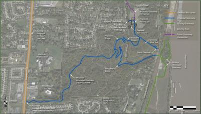 The Cliff Cave Park Trail will connect neighborhoods to the existing trail