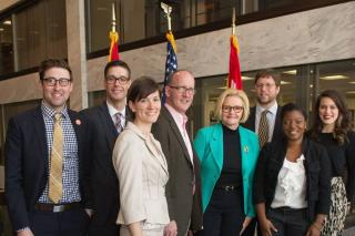 In March, the Missouri delegation at the National Bike Summit visited Washington