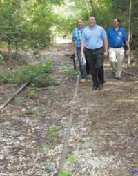 Inspecting the Rock Island line through Eldon