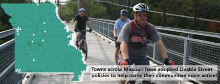 The grant will give communities $10,000 to develop a plan to move towards a Complete Streets policy, bike/ped master plan, or multimodal design guidelines.  Due date: April 8th