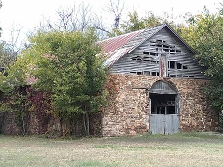 Arkansas has some of the best-preserved Butterfield buildings and ruins