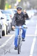 Jerry Seinfeld cycling