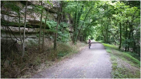 The Katy Rail Trail will be highlighted throughout the Ok Bike Summit