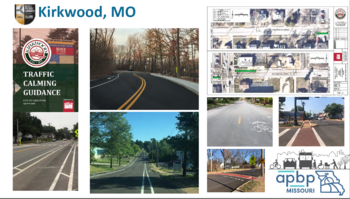 Livable/Complete Streets elements in Kirkwood MO