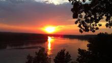 BikeMO - on the Missouri River bluffs in beautiful central Missouri