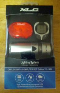 Light and speedometer set - One of our donor/member prizes, courtesy Family Bicycl
