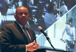 US Secretary of Transportation Anthony Foxx