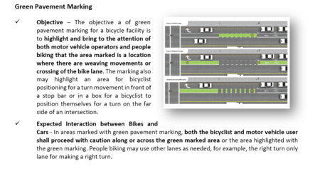 Sample Section of the new Guide to Missouri Road Rules, Markings, and Signs for
