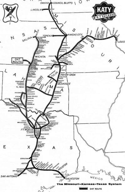 Katy System Map