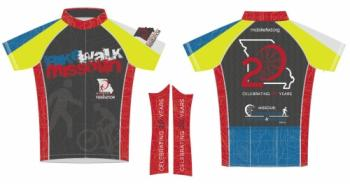 MoBikeFed 25th Anniversary Jersey
