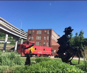 Kansas City's Riverfront Heritage Trail - Freedom Mall