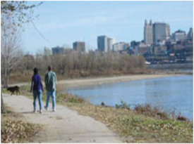 Kansas City's Riverfront Heritage Trail - Kaw Point Park