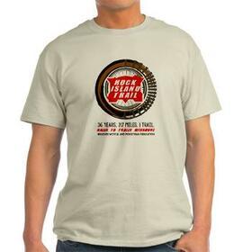 Rock Island Trail Commemorative T-shirt