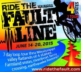 Bikes Across Missouri Ride the Fault Line