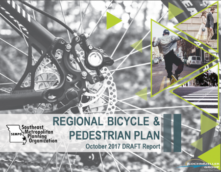 The draft Cape Girardeau regional bike/ped plan has been released and needs your