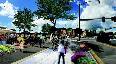 Visualization of Springfield Grant Ave project