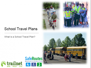 School Travel Plans--how they can help your community save money and